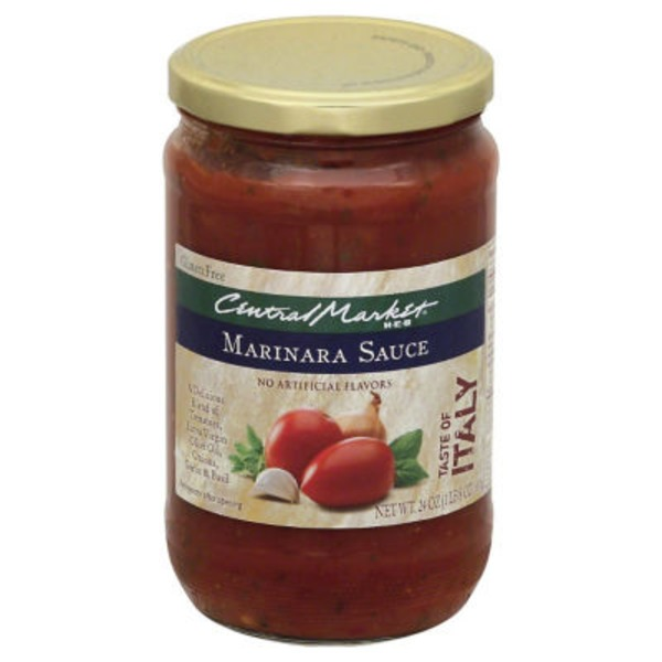 Central Market All Natural Marinara Sauce
