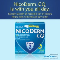 Nicoderm Cq Step 2 Clear Patches 14mg Stop Smoking Aid