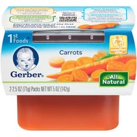 Gerber 1st Foods Carrots Purees-Vegetable