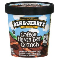 Ben & Jerry's Coffee Toffee Bar Crunch Ice Cream