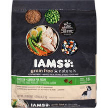 Iams Grain Free Chicken&Pea Dog Food