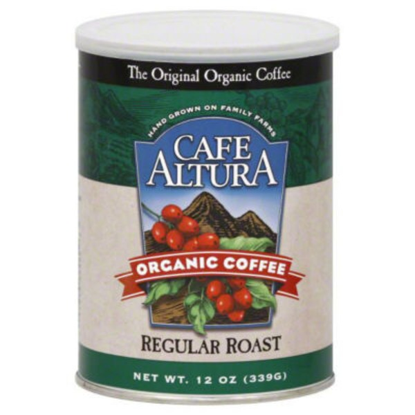Cafe Altura Organic Coffee Regular Roast