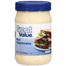 Great Value Real Mayonnaise