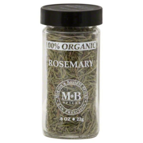 Morton & Bassett Spices Rosemary, 100% Organic