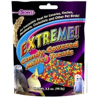 Extreme! Brown's Extreme! Candy-Covered Millet Bird Treats