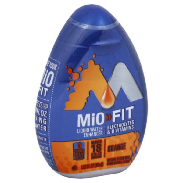 MiO Fit Orange Liquid Water Enhancer