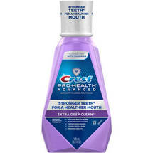 Crest Pro-Health Advanced with Extra Deep Clean Clean Mint Flavor Mouthwash