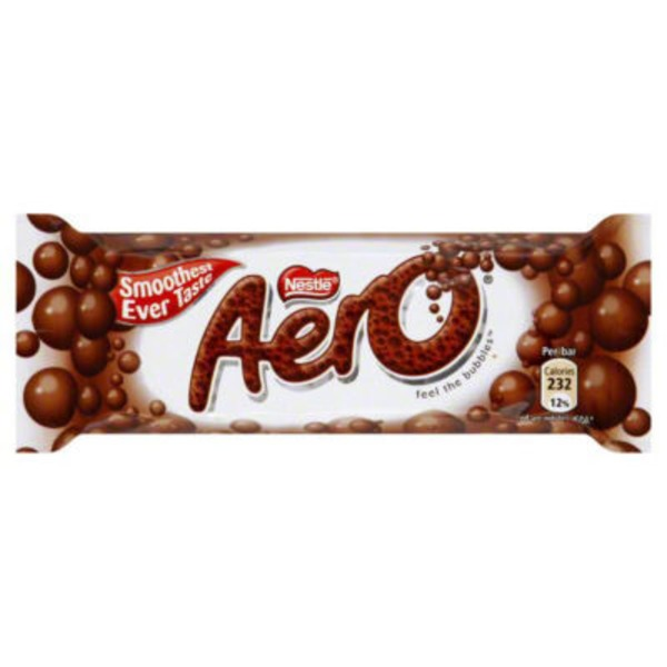 Aero Nestle Aero Milk Chocolate Candy Bar