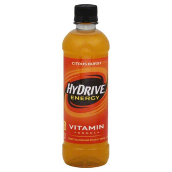 HyDrive Energy Water Citrus Burst