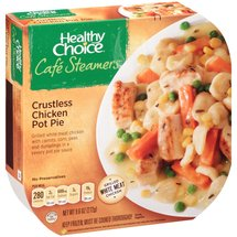 Healthy Choice Cafe Steamers Top Chef Crustless Chicken Pot Pie