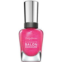 Sally Hansen Complete Salon Manicure Nail Color Back to the Fuchsia