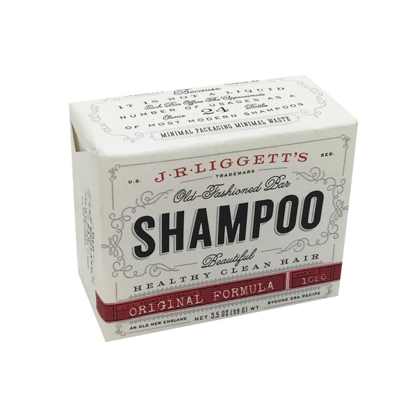 J.R. Liggett Old Fashioned Bar Shampoo Original Formula