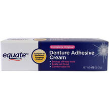 Equate Complete Original Denture Adhesive Cream