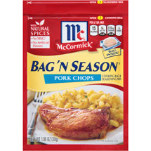 McCormick Bag 'n Season Pork Chops Seasoning Mix & Cooking Bag