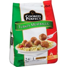 Cooked Perfect Turkey Meatballs