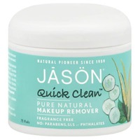 Jason Fragrance Free Quick Clean Makeup Remover