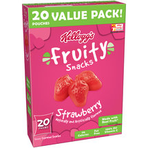 Kellogg's Strawberry Fruity Snacks