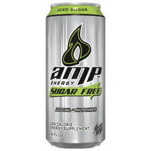 AMP Energy Sugar Free Energy Drink