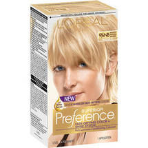 L'Oreal Paris Preference Lightest Natural Blonde  9.5NB Haircolor