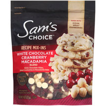 Sam's Choice White Chocolate Cranberry Macadamia Blend Recipe Mix-Ins