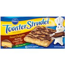 Pillsbury Toaster Strudel Boston Cream Pie
