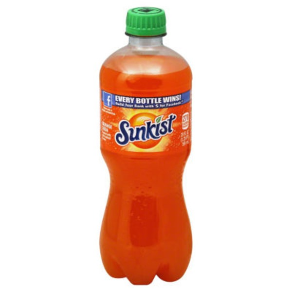 Sunkist Orange Soda