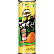 Pringles Tortillas Zesty Salsa Tortilla Crisps