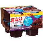 Jell-O Chocolate Sugarfree Pudding Snacks