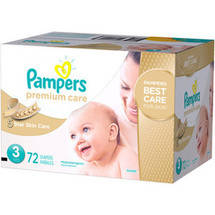 Pampers Premium Care Disposable Diapers Super Pack Size 3