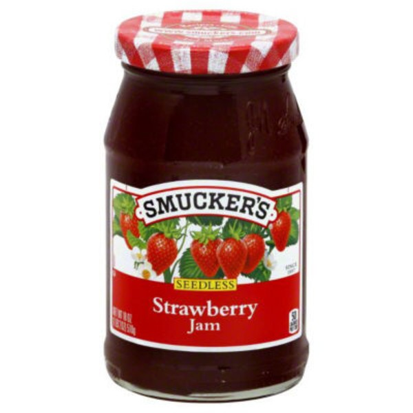 Smucker's Seedless Strawberry Jam