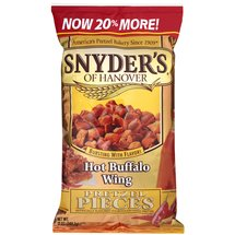Snyder's Of Hanover Hot Buffalo Wings Pretzel Pieces