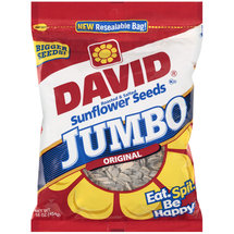 David Original Roasted & Salted Jumbo Sunflower Seeds