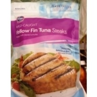 Kroger Wild Caught Yellow Fin Tuna Steaks