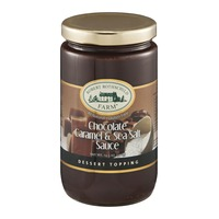 Robert Rothschild Farm Chocolate Caramel & Sea Salt Sauce Dessert Topping Gluten Free
