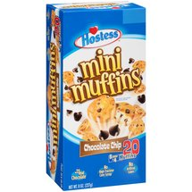 Hostess Chocolate Chip Mini Muffins