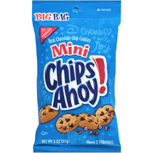 Nabisco Chips Ahoy Mini Chocolate Chip Bite Size Big Bag Cookies