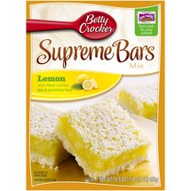 Betty Crocker Lemon Bars Sunkist