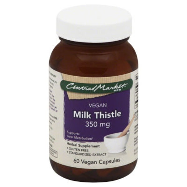 Central Market Milk Thistle Capsules