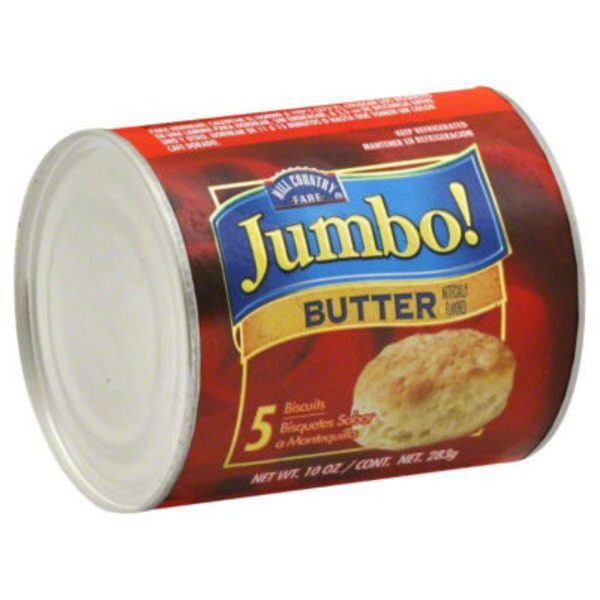 Hill Country Fare Jumbo Butter Biscuits