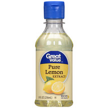 Great Value Pure Lemon Extract