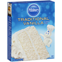 Pillsbury Traditional Vanilla Cake Mix