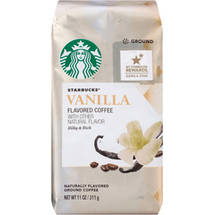 Starbucks Natural Fusions Vanilla Ground Coffee