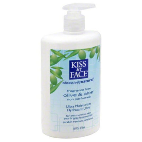Kiss My Face Deep Moisturizing Lotion 2 in 1 Olive & Aloe Fragrance Free