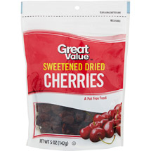 Great Value Dried Cherries