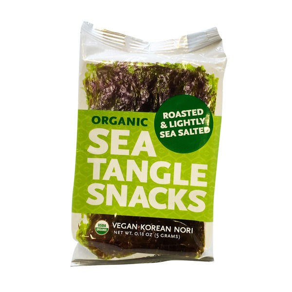 Sea Tangle Organic Roasted Seaweed Snack