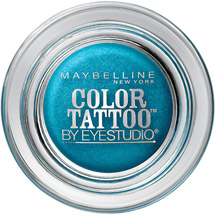 Maybelline Eye Studio Color Tattoo 24 Hour Eyeshadow Tenacious Teal
