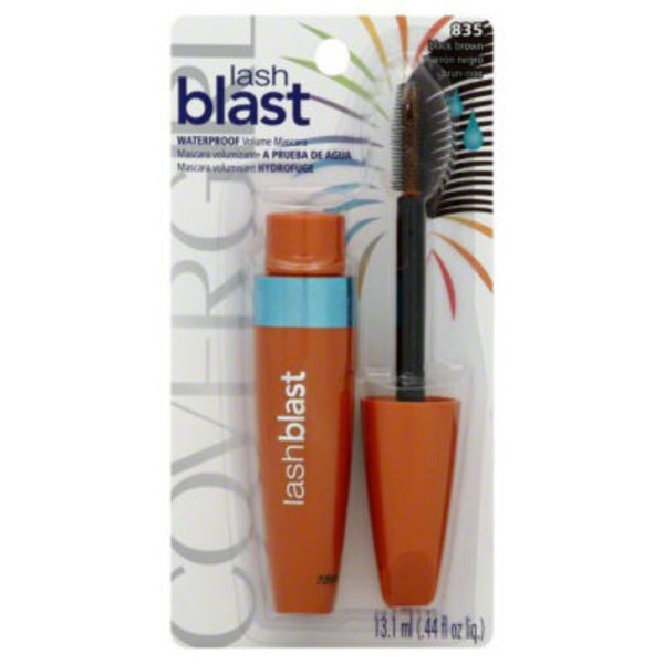 CoverGirl Lash Blast COVERGIRL LashBlast Volume Waterproof Mascara Black Brown .44 fl oz (13.1 ml) Female Cosmetics