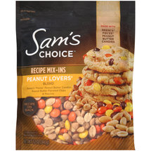 Sam's Choice Peanut Lovers' Blend Recipe Mix-Ins