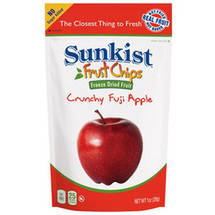Sunkist Fruit 2.0 Fuji Apple Slices Freeze Dried Fruit