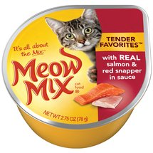 Meow Mix Market Select Salmon & Red Snapper Cat Food In Sauce